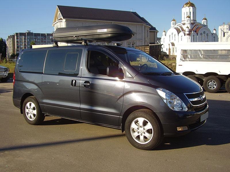 Багажник для перевозки лыж и сноубордов для минивэна